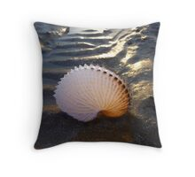 Paper Nautilus-02 Throw Pillow