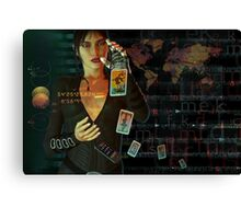 card reader Canvas Print