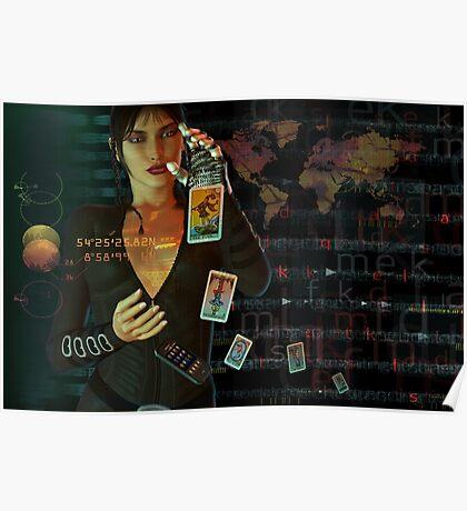 card reader Poster