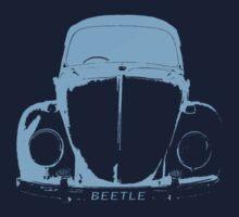 VW Beetle Shirt -  Light Blue