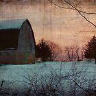 Winter Barn by kellym