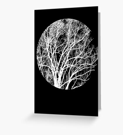 Nature into Me Greeting Card