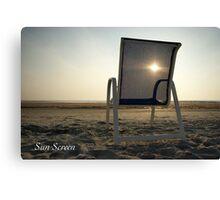 Sun Screen Canvas Print