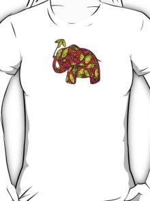 Umbrellaphant Raspberry Splice T-Shirt