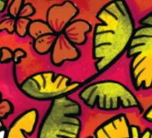 Umbrellaphant Raspberry Splice Sticker