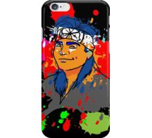 Karate Kid Neon iPhone Case/Skin