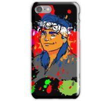 Karate Kid Neon iPhone Case/Skin