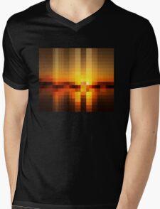 Nature Pixels No 19  Mens V-Neck T-Shirt
