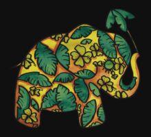 Umbrellaphant Lime Splice by © Karin  Taylor
