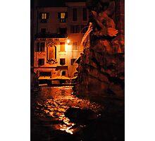 Fontana del Pantheon Photographic Print