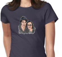 Katie Cooper and Gaz Coombes Illustration Womens Fitted T-Shirt