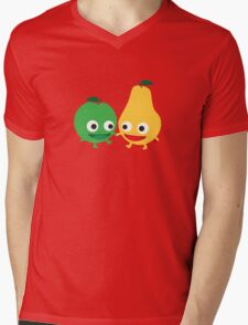 Apples and pears Mens V-Neck T-Shirt