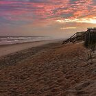 Topsail Beach by denise romano