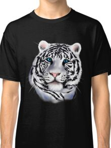 White Tiger Face Classic T-Shirt