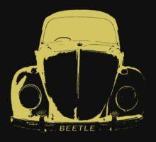 VW Beetle Shirt - Yellow Kids Clothes