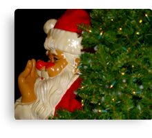 Santa Clause is coming to town #1 Canvas Print