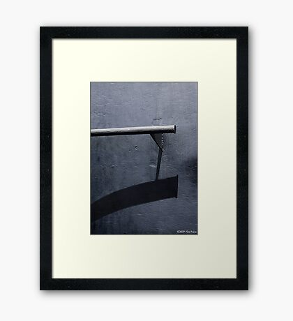 Perception And Reality Framed Print