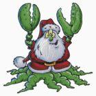 Santa by Bleee