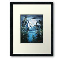 Werewolf Moon Framed Print