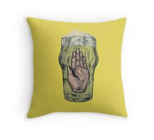Hail The Beer Throw Pillow