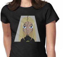 Teen Titans - Terra broken Womens Fitted T-Shirt