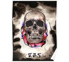 Adorned Skull Poster