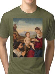 a wonderful Holy See landscape Tri-blend T-Shirt