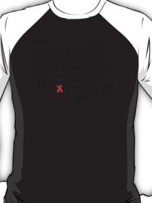 CRAZY DIAMOND - BLACK TEXT T-Shirt
