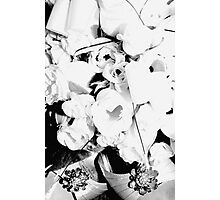 Flowers and Heels Photographic Print