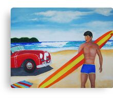 Surfer Guy Canvas Print