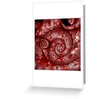 Spiral Pong + Parameter Greeting Card