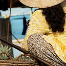 peoplescapes #115, woman with pineapples by stickelsimages