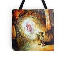 His Voice May be Heard - Waltzing Matilda Series Tote Bag