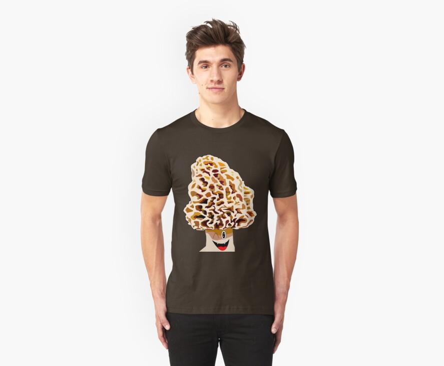 Happy Morel Mushroom by Forefox