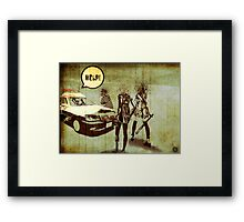 Girls Who Don't Like Authority II Framed Print