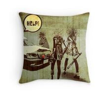 Girls Who Don't Like Authority II Throw Pillow