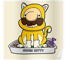 Super Meowrio! Poster