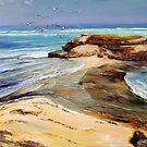 Post Office Rocks - Beachport, South Australia by Pieter  Zaadstra