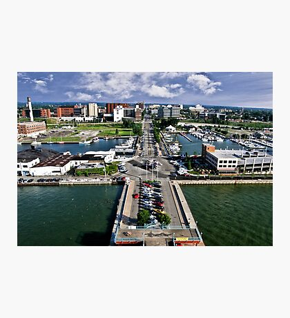 Erie Bayfront Photographic Print