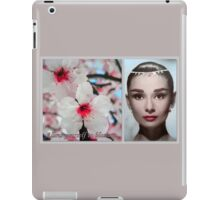 Allow yourself to blossom iPad Case/Skin