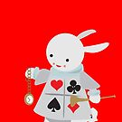 The white rabbit by InkRain