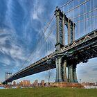 Manhattan Bridge by Jean-Pierre Ducondi