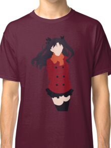 Rin Tohsaka (Fate/stay night Minimalistic Print) Classic T-Shirt