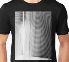 bearly there in black and white Unisex T-Shirt