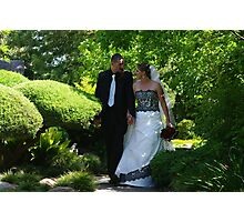 Mel & Jason's wedding (marriage) Photographic Print