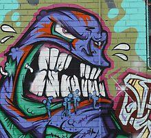 Snarling man by gokul