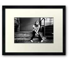 Genius next door Framed Print