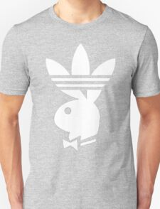 Playdidas white T-Shirt