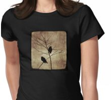 enter the dusk Womens Fitted T-Shirt
