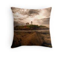 Coastal Maine, USA Throw Pillow